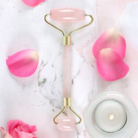 Rose Quartz Gemstone Face Roller