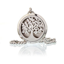 Load image into Gallery viewer, Aromatherapy Diffuser Necklace - Tree of Life 30mm