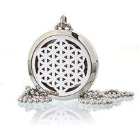 Aromatherapy Diffuser Necklace - Flower of Life 30mm