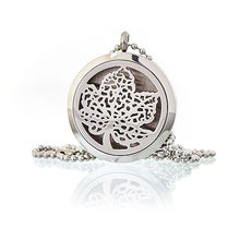 Load image into Gallery viewer, Aromatherapy Diffuser Necklace - Leaf 30mm