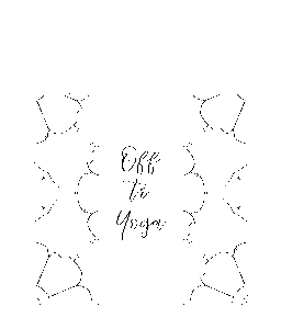 Off to Yoga Tote Bag