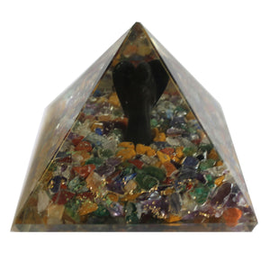 Large Orgonite Angel Pyramid - 70mm