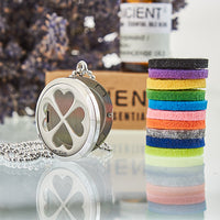 Four Leaf Clover 30mm - Aromatherapy Diffuser Necklace
