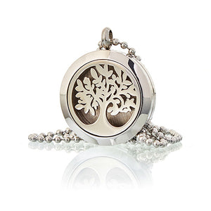 Tree of Life - Aromatherapy Diffuser Necklace