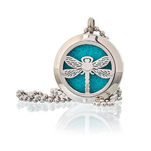Load image into Gallery viewer, Dragonfly 25mm - Aromatherapy Diffuser Necklace