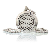 Flower of Life - Aromatherapy Diffuser Necklace