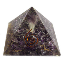 Load image into Gallery viewer, Large Orgonite Angel Pyramid - 70mm