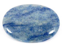 Blue Quartz Palmstone
