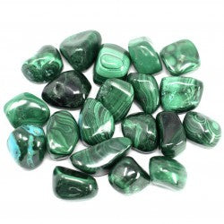 African Gemstone  Malachite