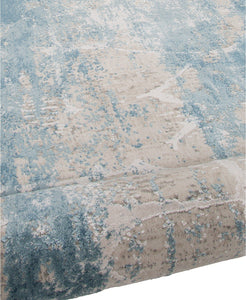 Area Rugs - Alloy ALL341 Light Blue