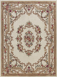 Area Rugs - Dynasty Aubusson Cream
