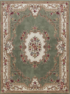 Area Rugs - Dynasty Aubusson Sage