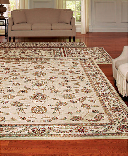 Area Rugs - Florence Isfahan Ivory