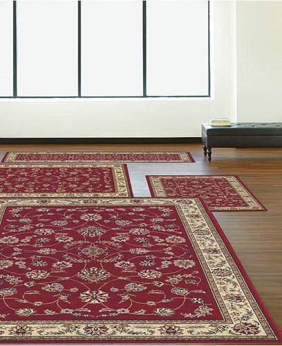 Area Rugs - Florence Isfahan Red