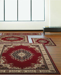 Area Rugs - Florence Kerman Red