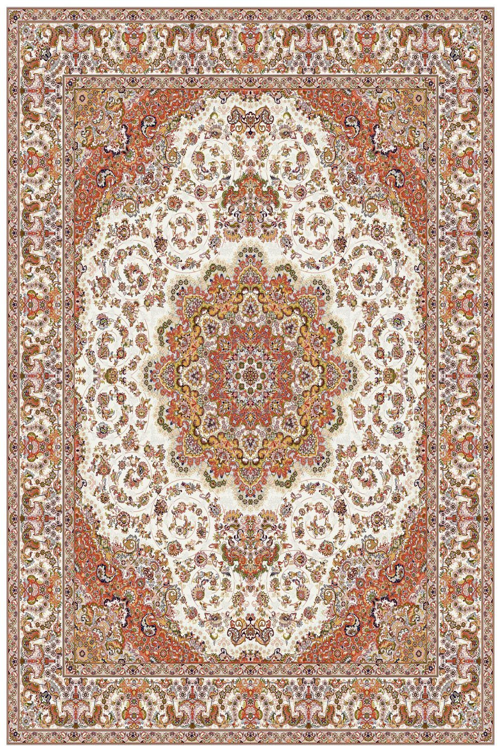 Area Rugs - Persian Treasures - Shah - Cream