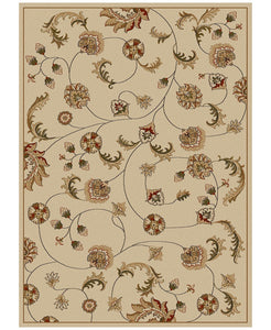 Area Rugs - Pesaro Flores Ivory