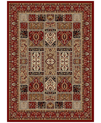 Area Rugs - Pesaro Panel Red
