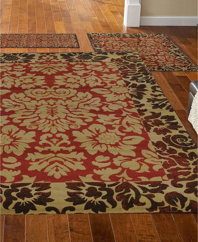 Area Rugs - Roma Closeout Royale Brick