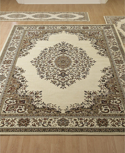 Area Rugs - Roma Kerman Ivory