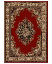 Load image into Gallery viewer, Area Rugs - Roma Kerman Red