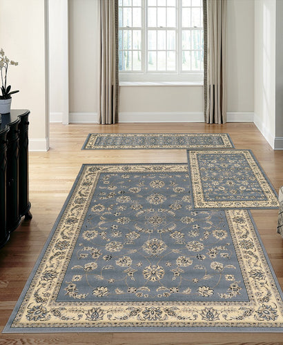 Area Rugs - Stadio Isfahan Grey/Blue
