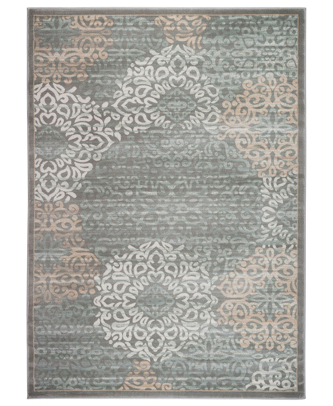 Area Rugs - Teramo Intrigue Grey