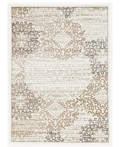 Area Rugs - Teramo Intrigue White