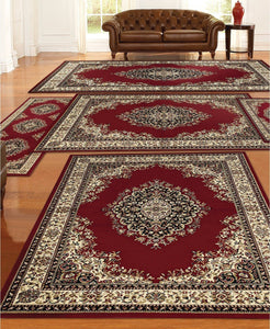 Area Rugs - Tuscany Kerman Red