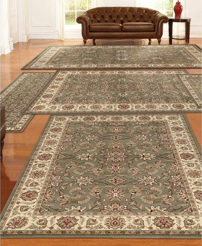 Area Rugs - Tuscany Meshed Sage