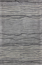 Load image into Gallery viewer, Area Rugs - Waves WAV101 Grey, Created For Macy's