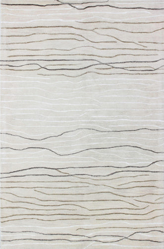 Area Rugs - Waves WAV101 Ivory, Created For Macy's
