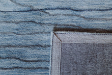 Load image into Gallery viewer, Area Rugs - Waves WAV101 Light Blue