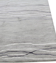 Load image into Gallery viewer, Area Rugs - Waves WAV101 Silver, Created For Macy's