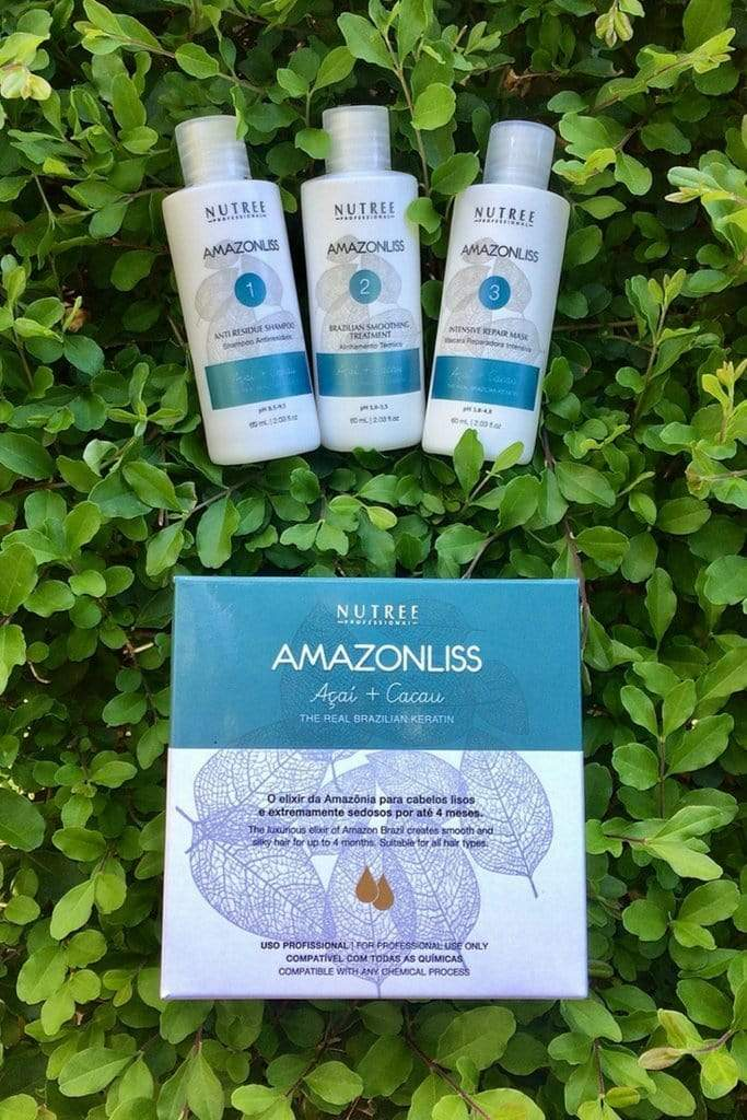 Amazonliss Step by Step | Nutree Cosmetics property of 365 SUN LLC.