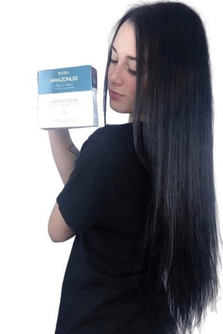 Keratin straightening at home in an hour!