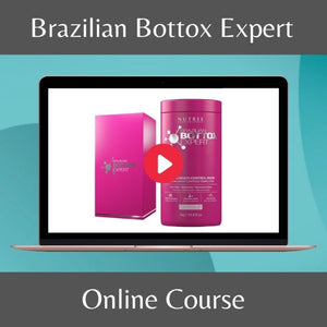 Brazilian Bottox Expert Hair Repair Treatment Professional Course - Nutree Cosmetics property of 365 SUN LLC.