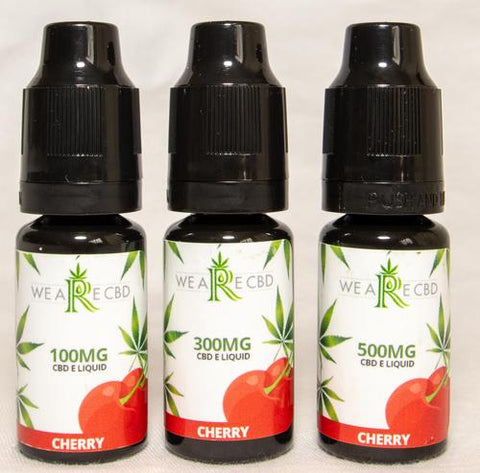 Cbd e-liquid for anxiety 100mg cherry flavour