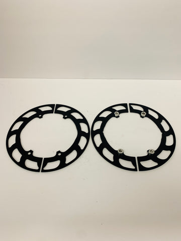 "8"" Four Spoke Aluminum Gear Guard"