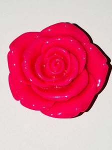 Attractables Custom Purse Jewelry-Magnet Key holder Brgt Pk Rose.