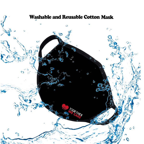 FASHION FACE MASK Washable Reusable Montana West Style Together We Care.