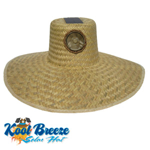 Mens / Ladies Kool Breeze Solar Gardner Natural Hat