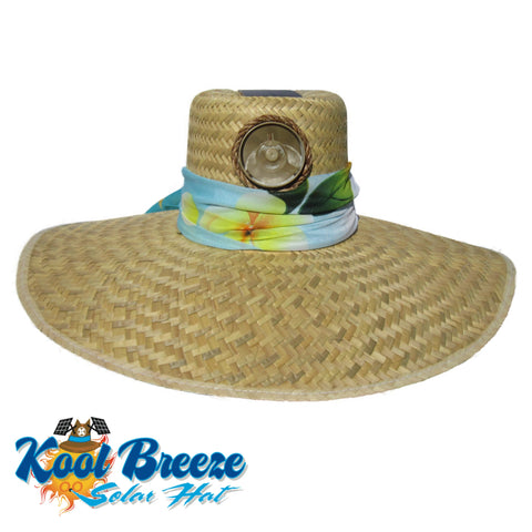 Mens / Ladies Kool Breeze Solar Gardner Natural Hat.