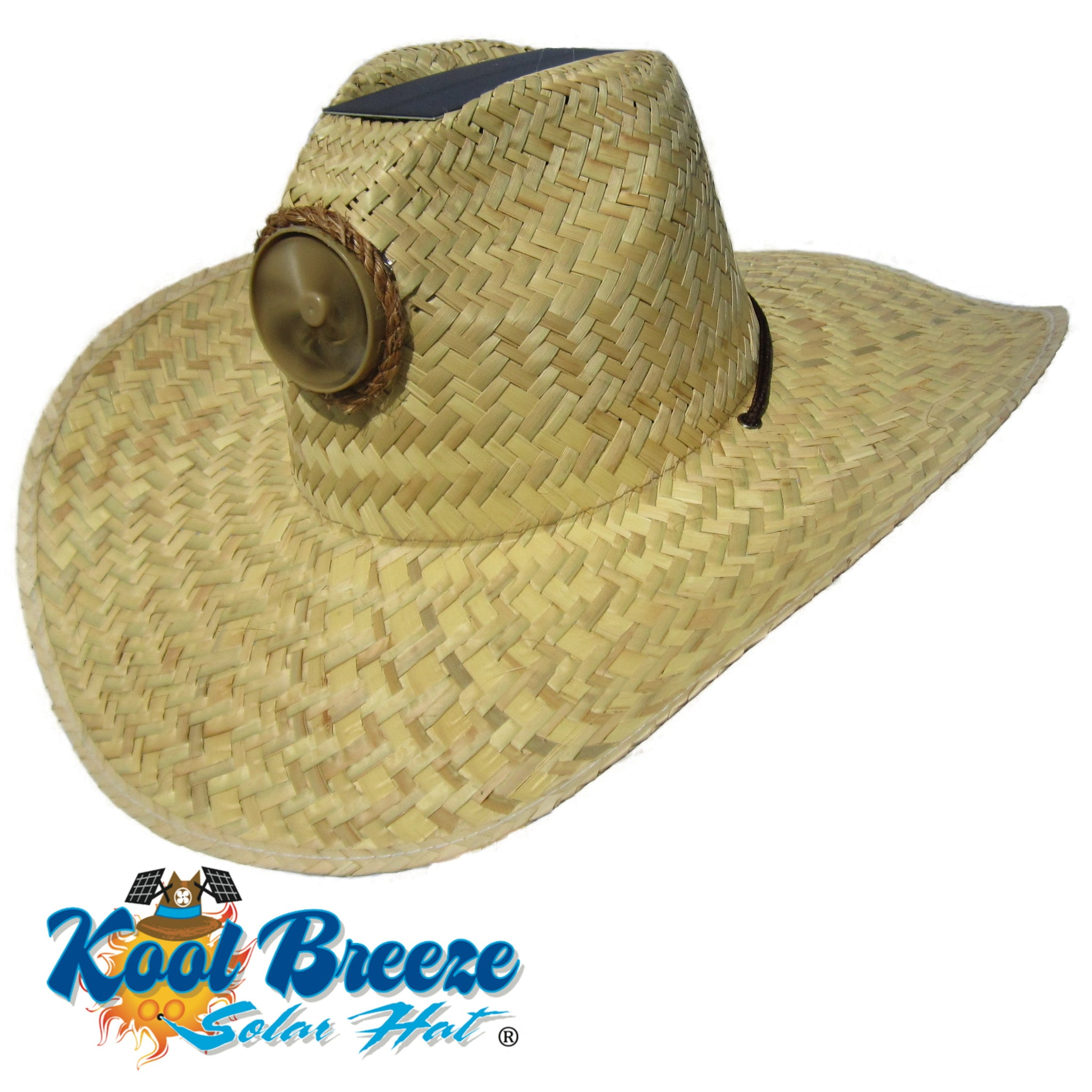 Mens / Ladies Kool Breeze Solar Gentlemens Natural Hat