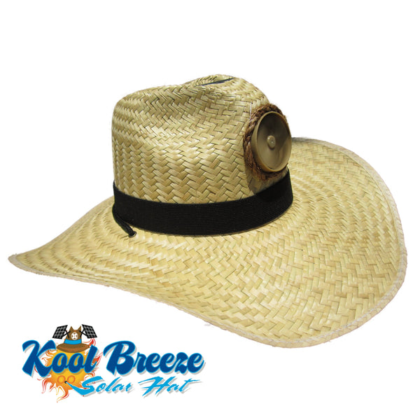 Mens / Ladies Kool Breeze Solar Gentlemens Natural Hat.