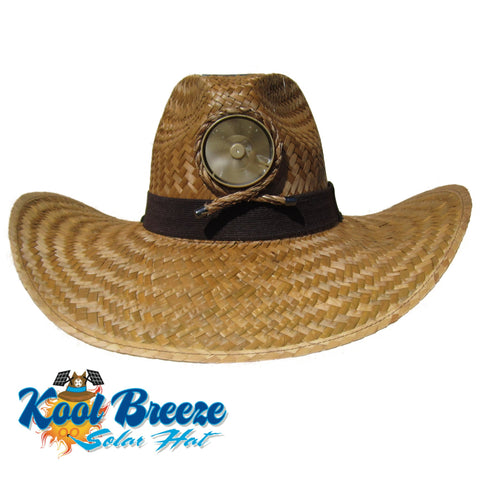 Mens Kool Breeze Solar Gentlemens Brown Hat.