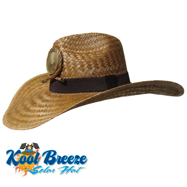 Mens Kool Breeze Solar Gentlemens Brown Hat