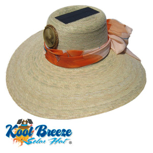 Ladies Kool Breeze Solar Floppy Natural Hat.