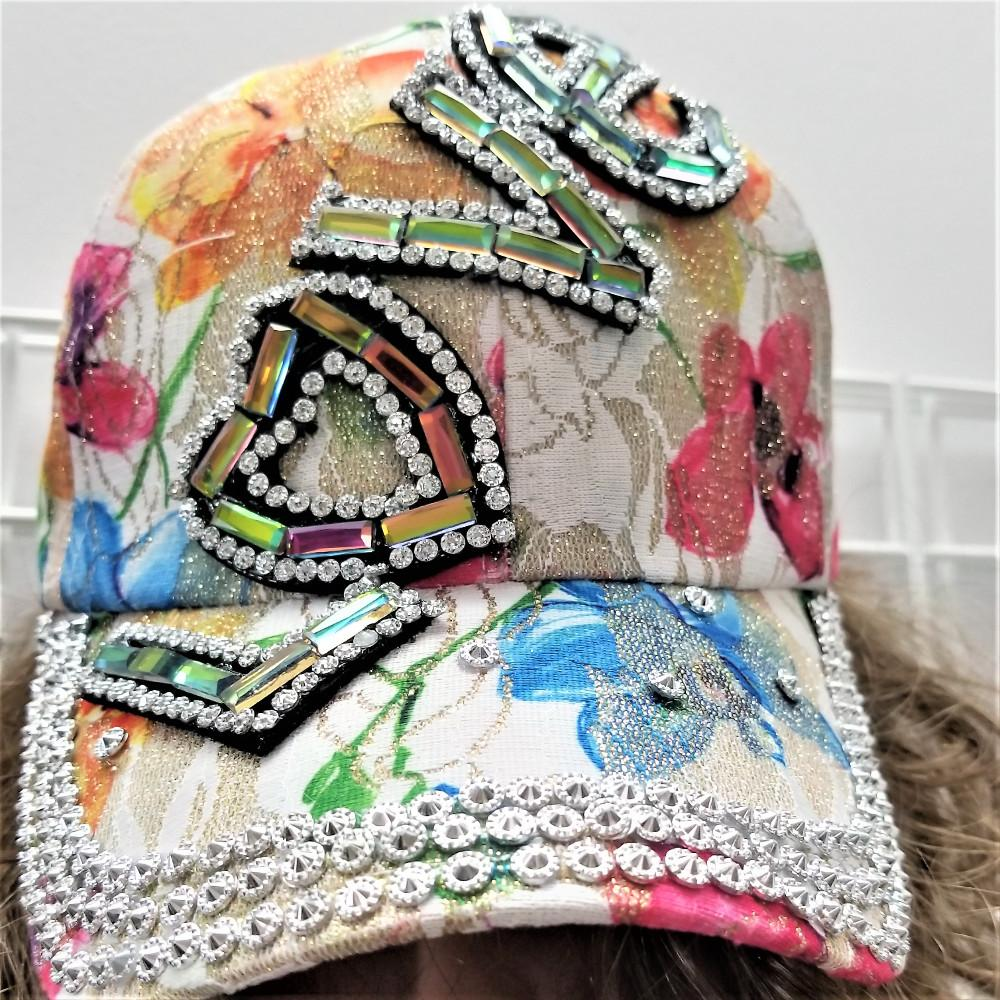 LOVE ON PASTELS Ladies Ball Cap.