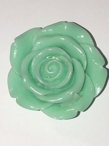 Attractables Custom Purse Jewelry-Magnet Key holder Seafoam Rose